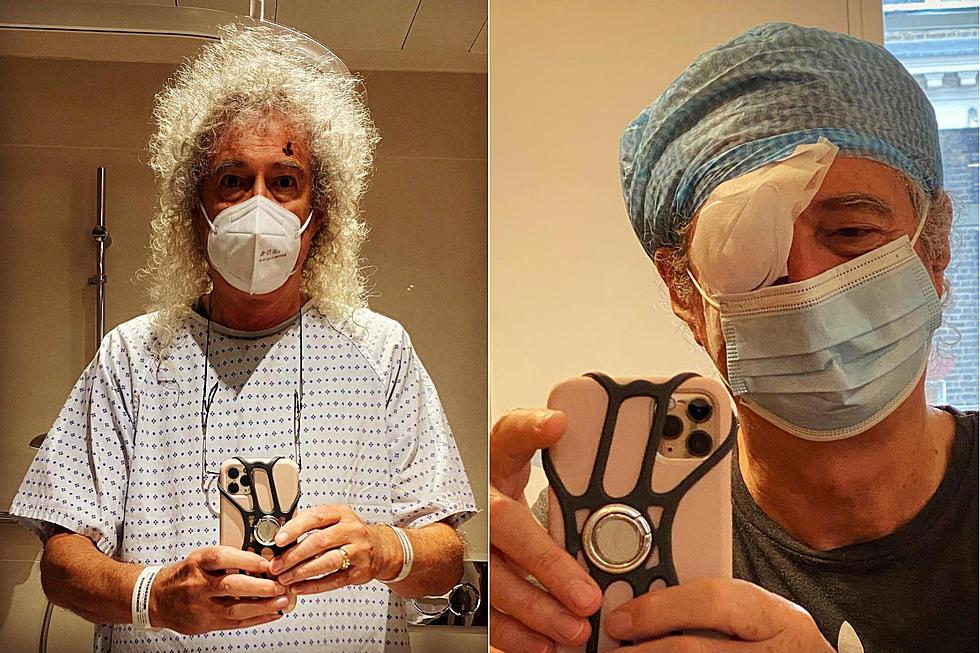 Brian May Undergoes 'A Little Bit of Eye Surgery'