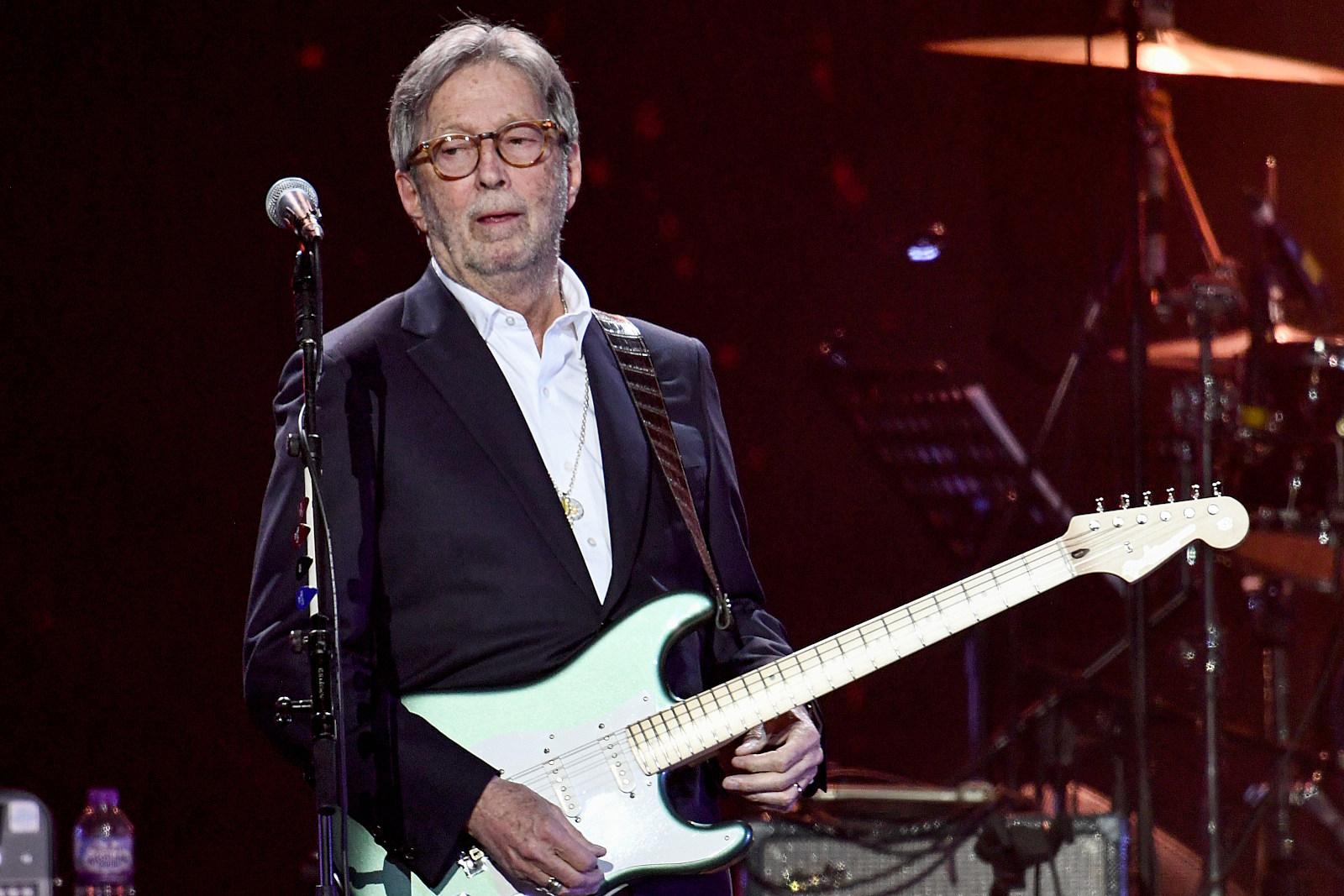 Eric Clapton Details 'Severe Reactions' to AstraZeneca Vaccine