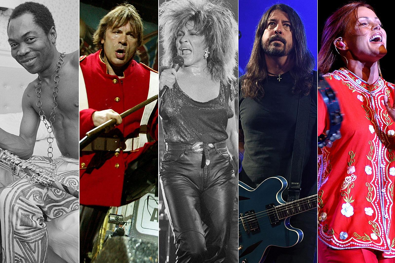 Tina Turner, Fela Kuti, Go-Go's Top Final Rock Hall Fan Ballot