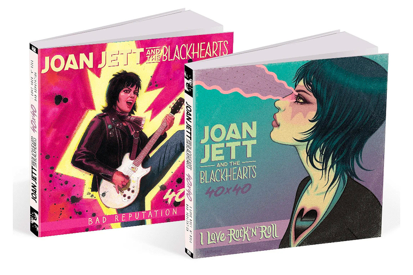Joan Jett's First Two Albums Turned Into a Graphic Novel