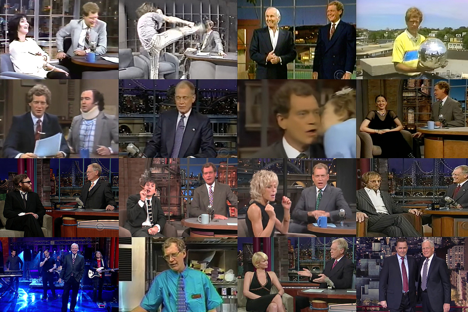 David Letterman's Most Memorable Late-Night Moments