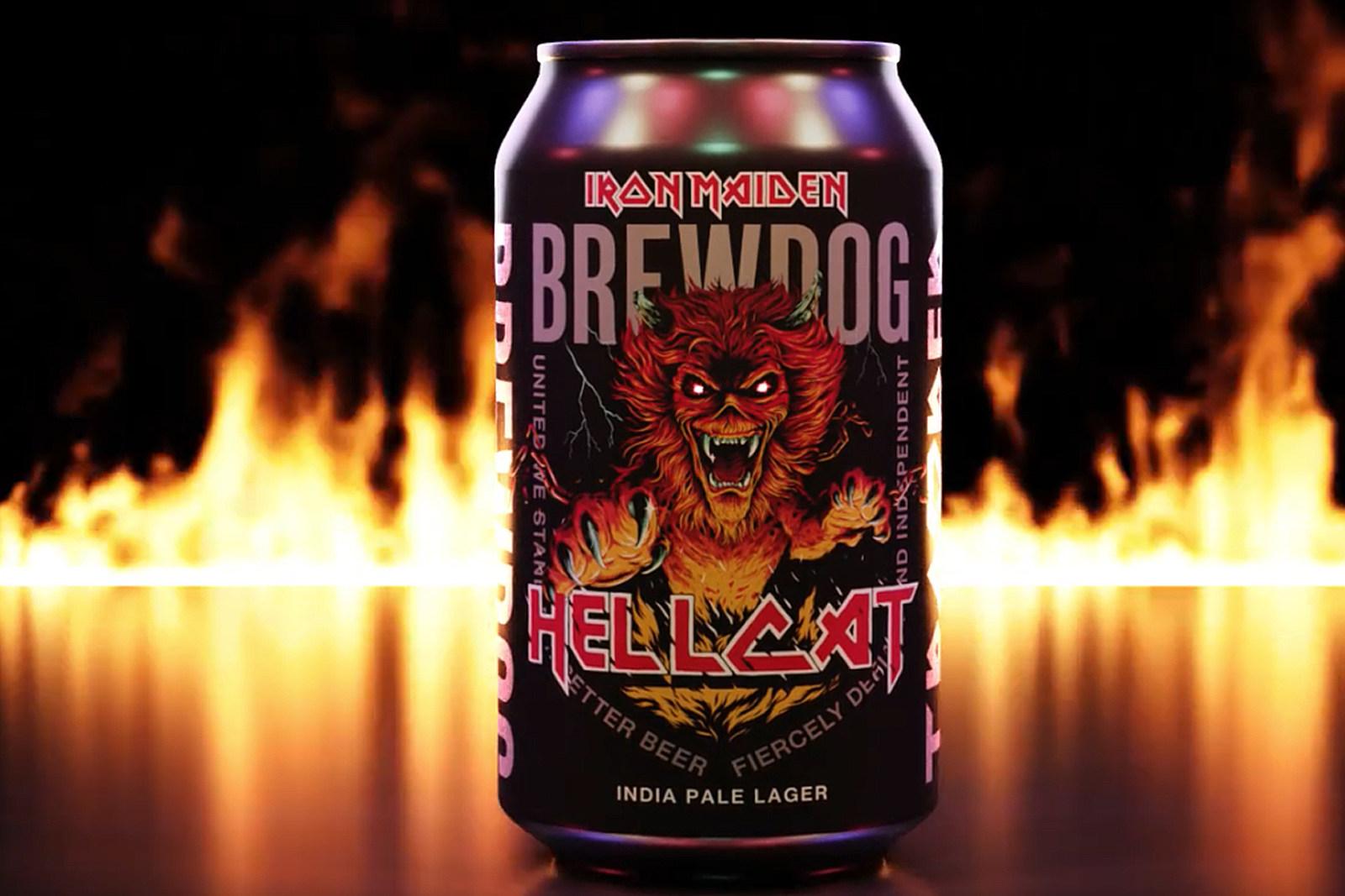 Iron Maiden Announce New Craft Beer, Hellcat