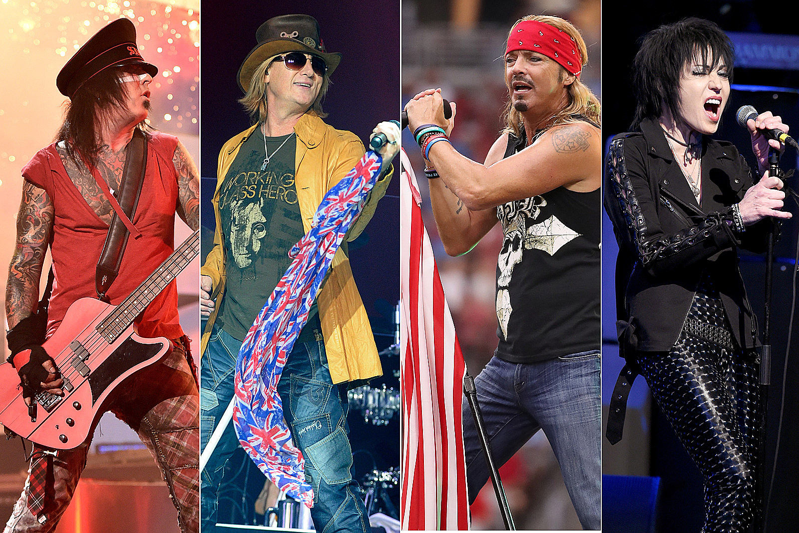 Motley Crue, Def Leppard, Poison and Joan Jett Tour Moved to '22