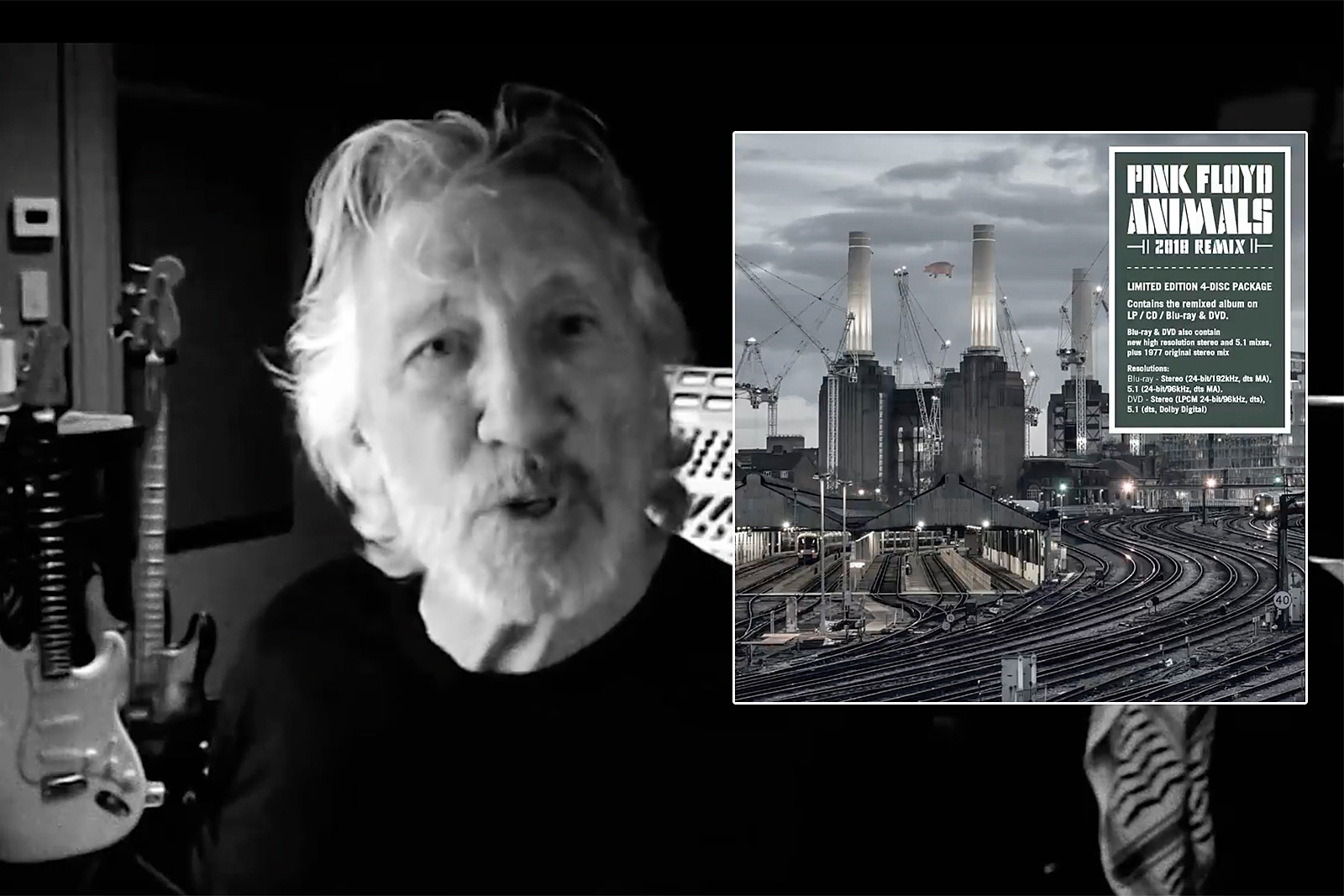 Roger Waters Posts Disputed Liner Notes to Pink Floyd's 'Animals'