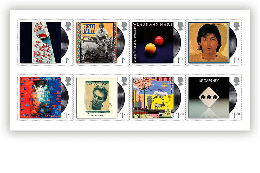 Paul McCartney's Solo Career Honored With Royal Mail Stamp Set