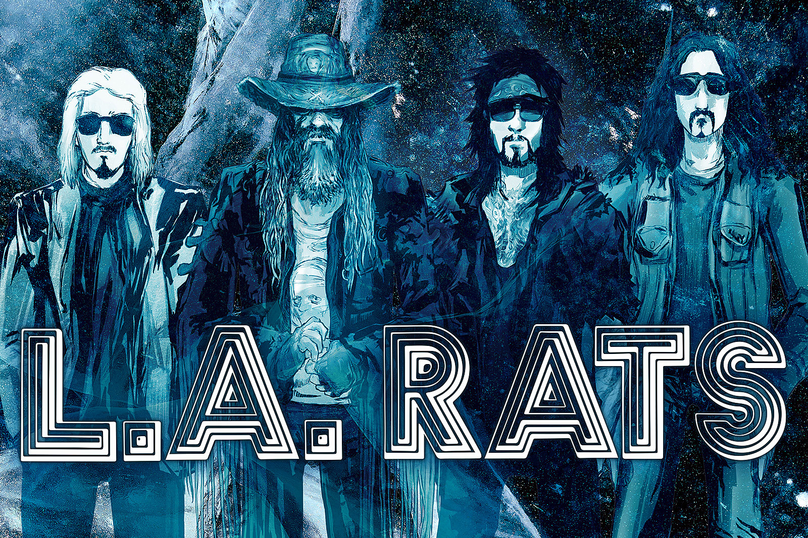 L.A. Rats - Nuevo supergrupo con Rob Zombie, Nikki Sixx, John 5 y Tommy Clufetos Larats