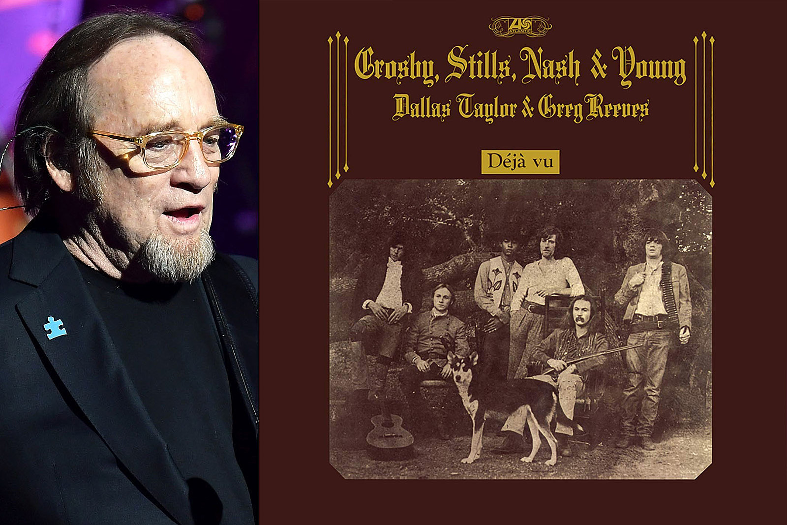 Stephen Stills Takes Blame for 'Deja Vu' Album Art Drama