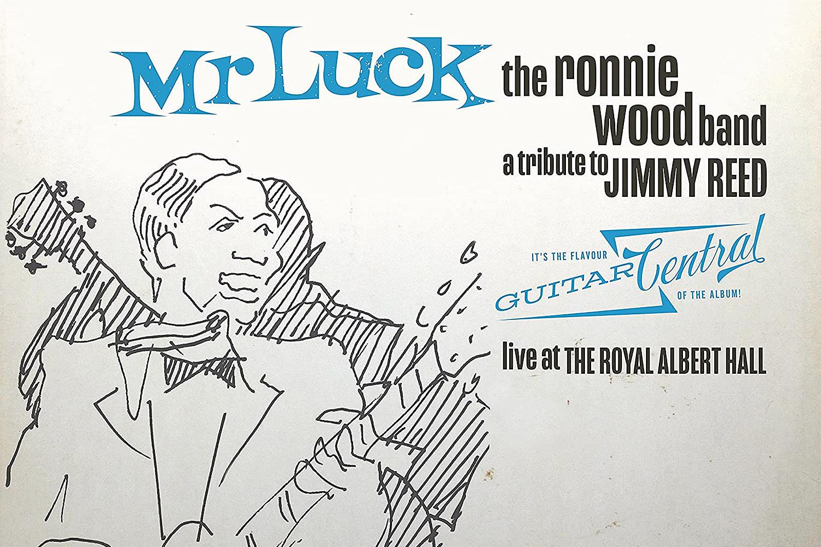 Ronnie Wood Announces 'Mr. Luck' Jimmy Reed Tribute Album