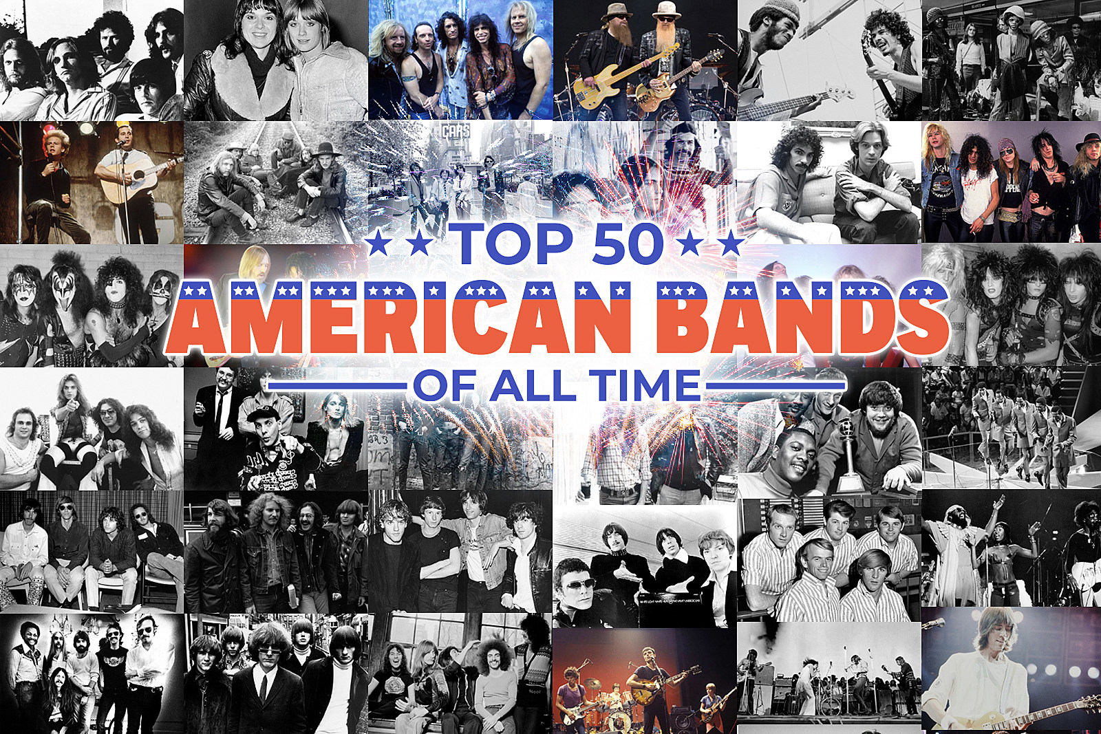 Top 50 American Bands of All Time
