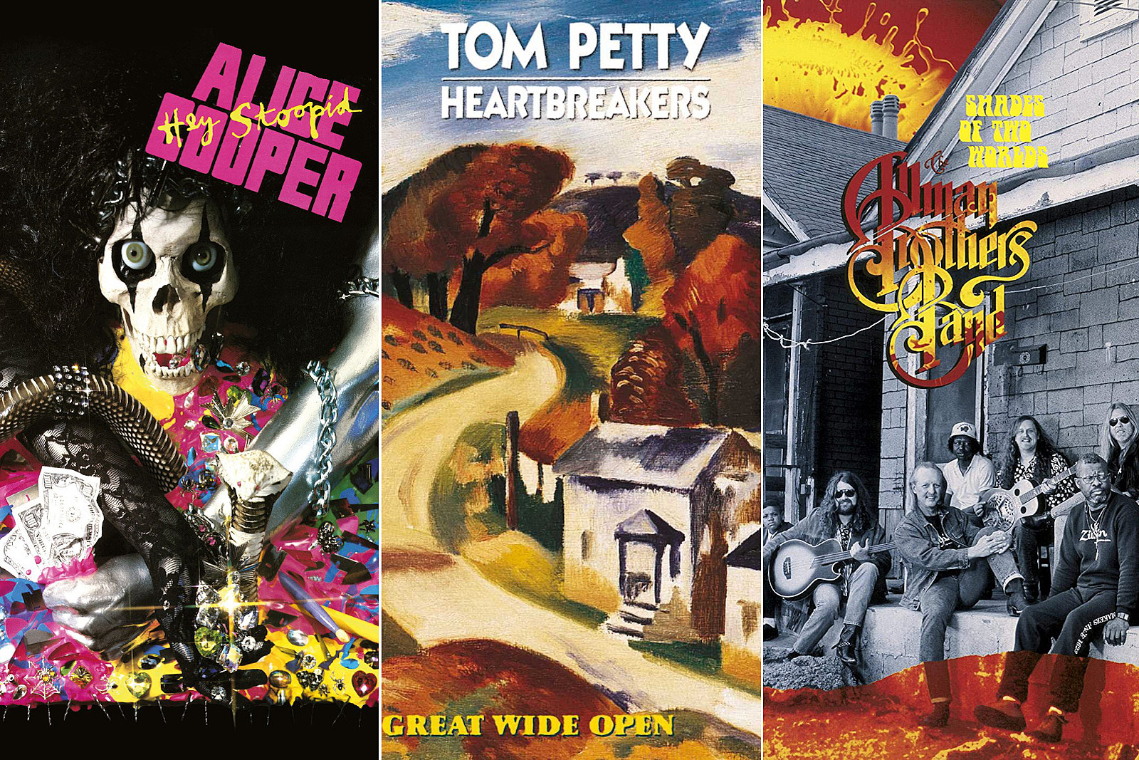 The Day Tom Petty, Alice Cooper and the Allmans Issued Key LPs