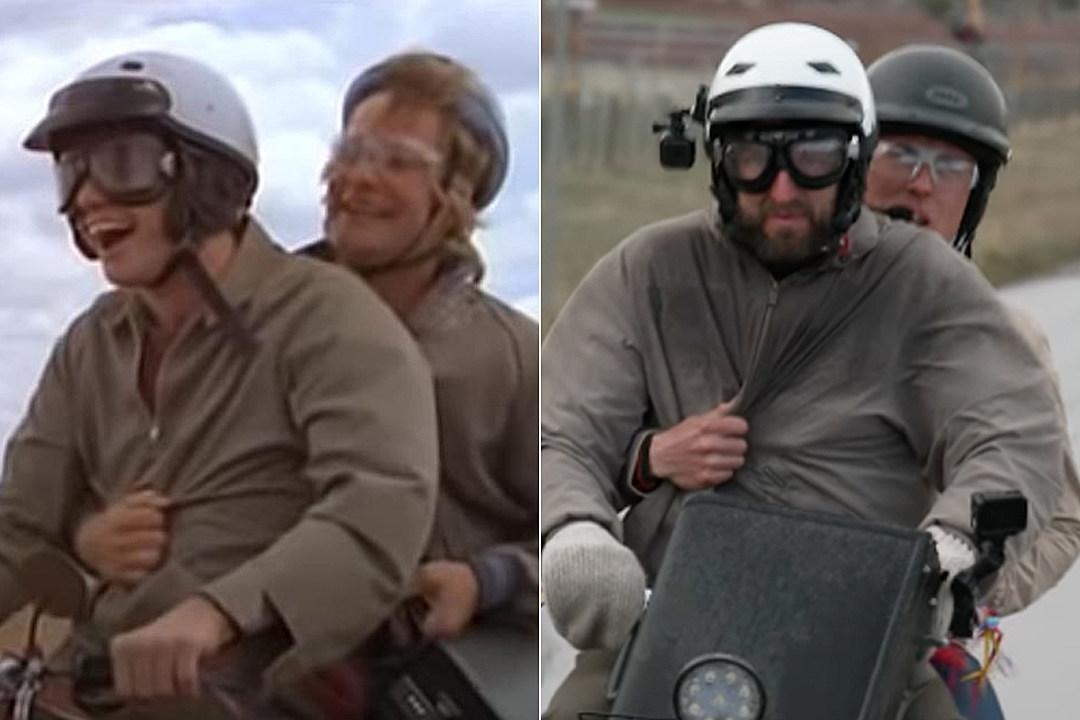 Watch Two Guys Try the 'Dumb and Dumber' Aspen Mini Bike Ride