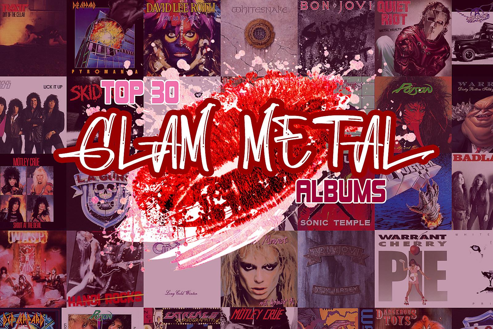 Top 30 Glam Metal Albums