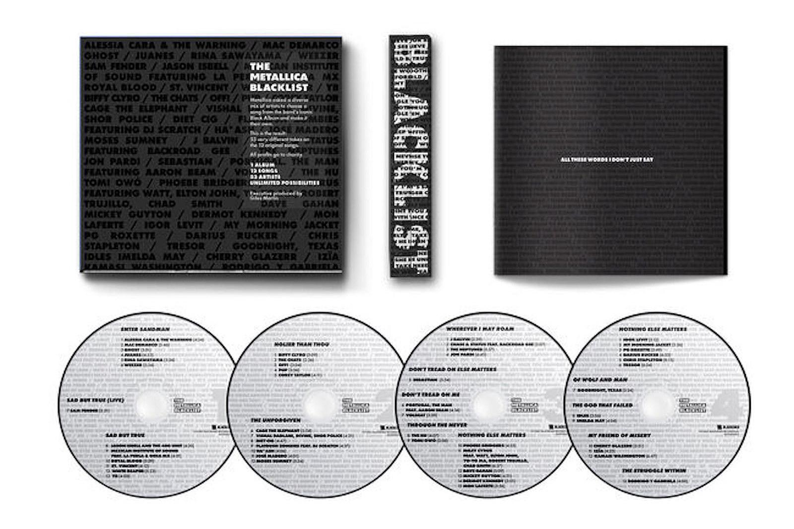 Metallica Prep Black Album Covers LP Featuring Elton John, Weezer