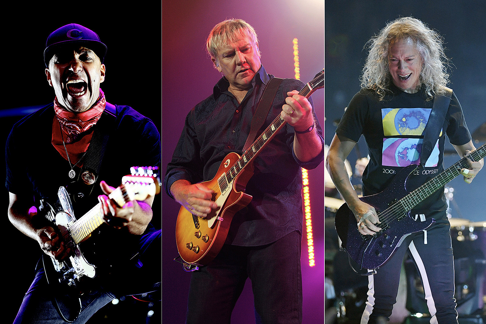 Alex Lifeson Preps New Song With Tom Morello and Kirk Hammett