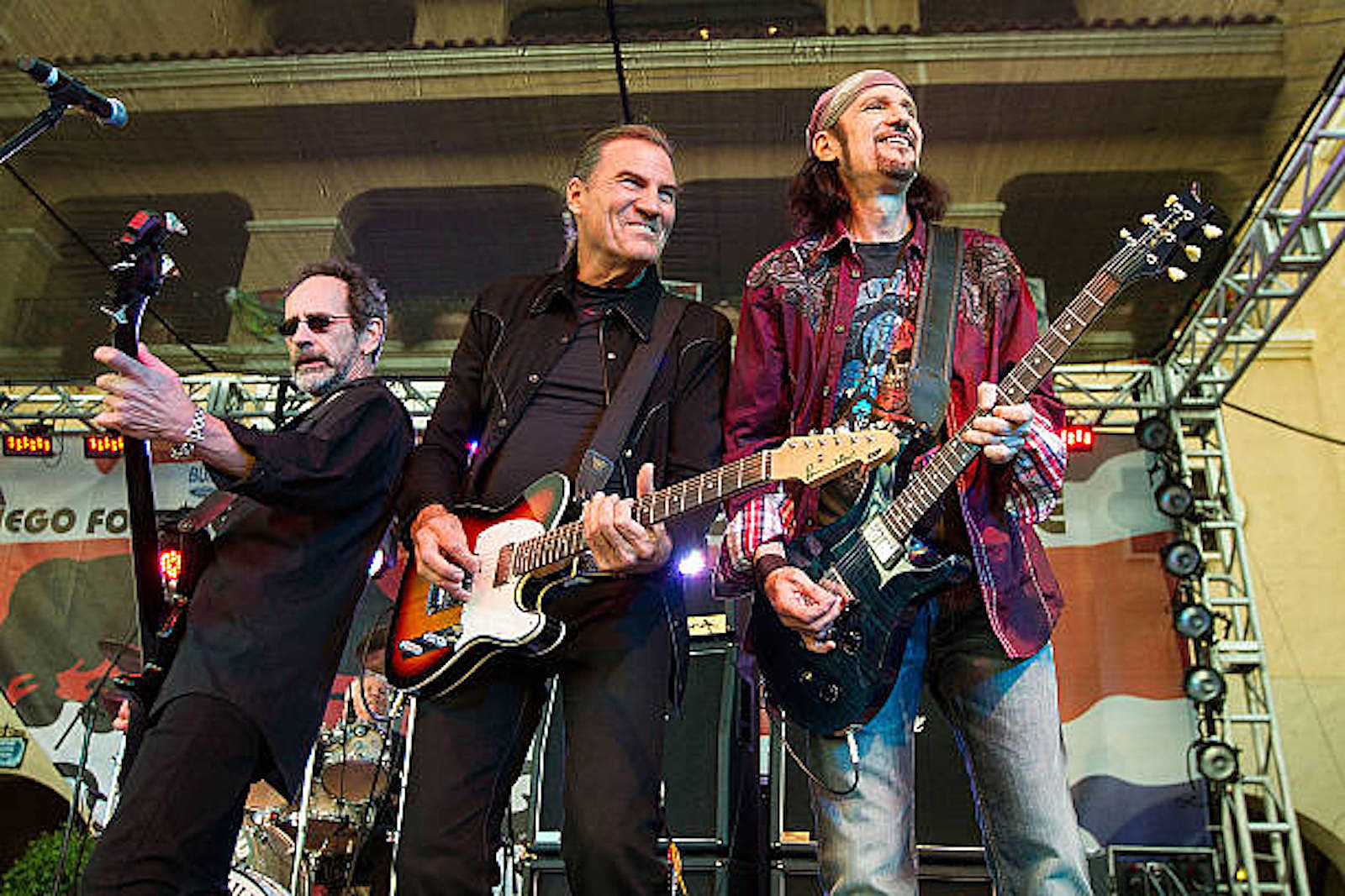 Grand Funk Railroad Feed Off Crowd's Energy At First Concert Back