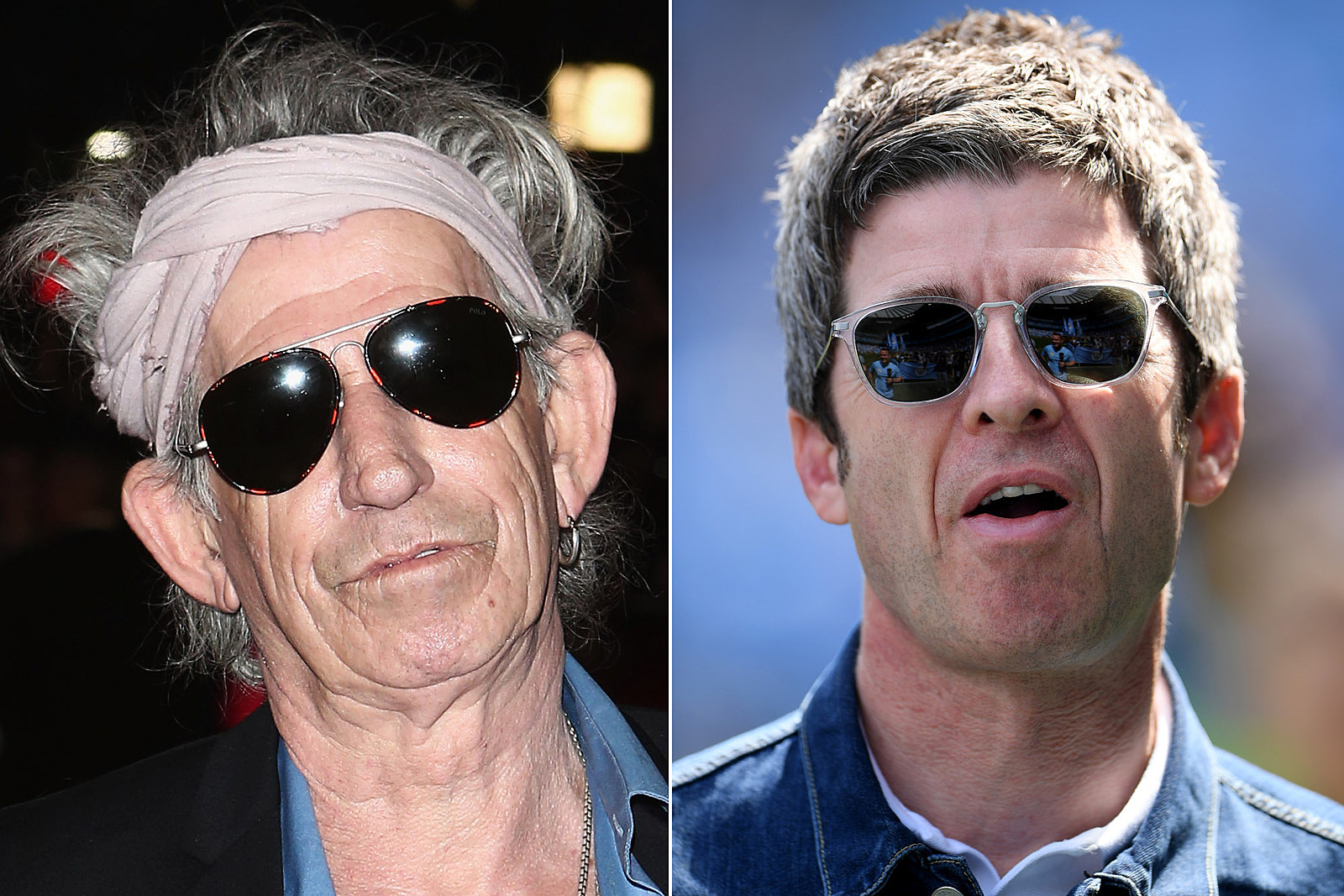 Keith Richards and Noel Gallagher Compared Bad Bandmates