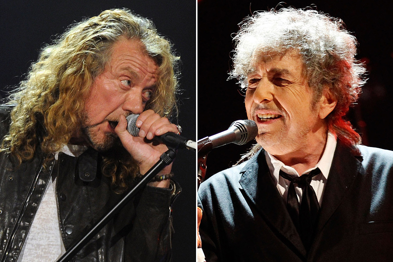 Robert Plant: Writing Like Bob Dylan Is More Than I Can Imagine