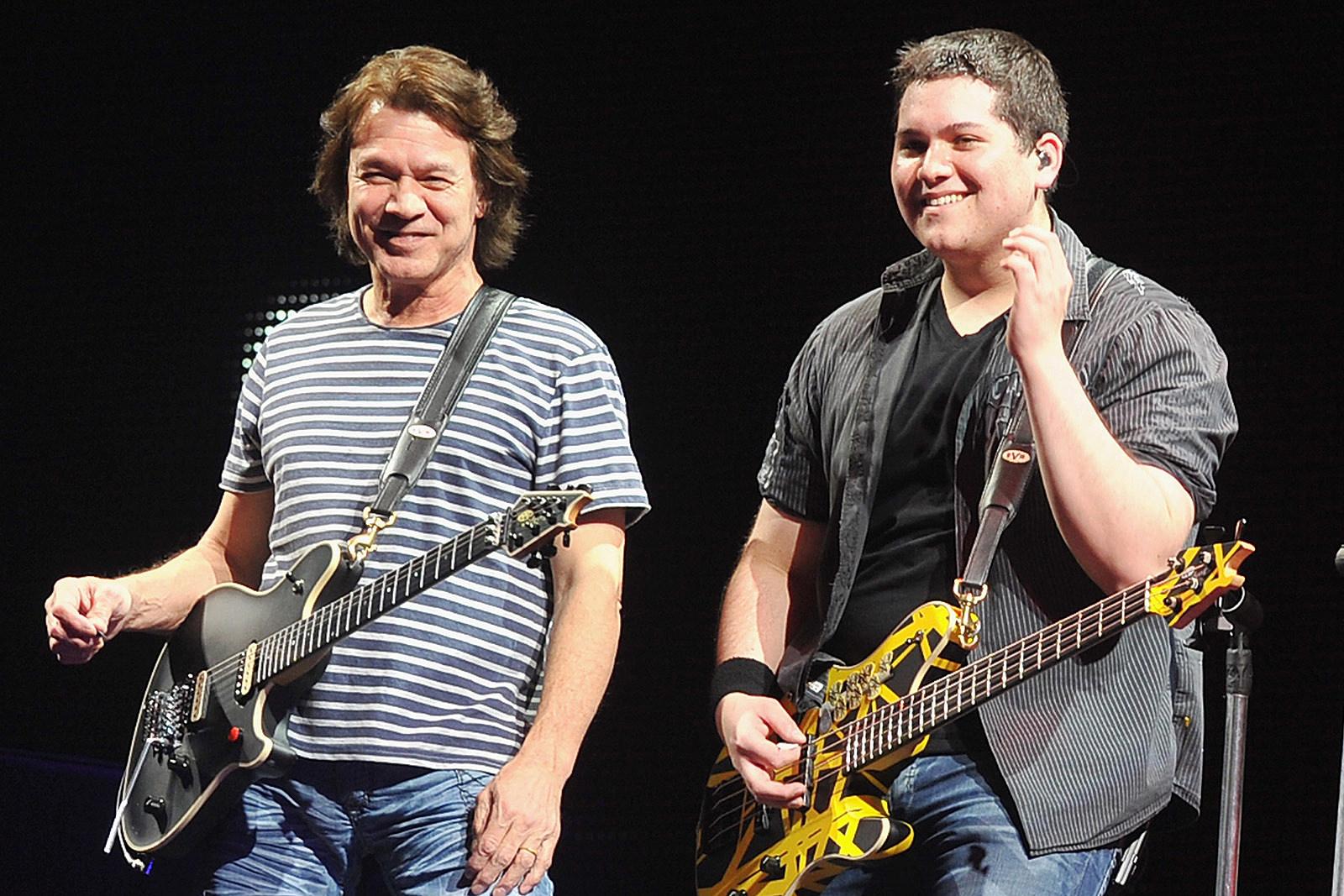 Eddie Van Halen Cheered Wolfgang When He Threw Pumpkin at Teacher