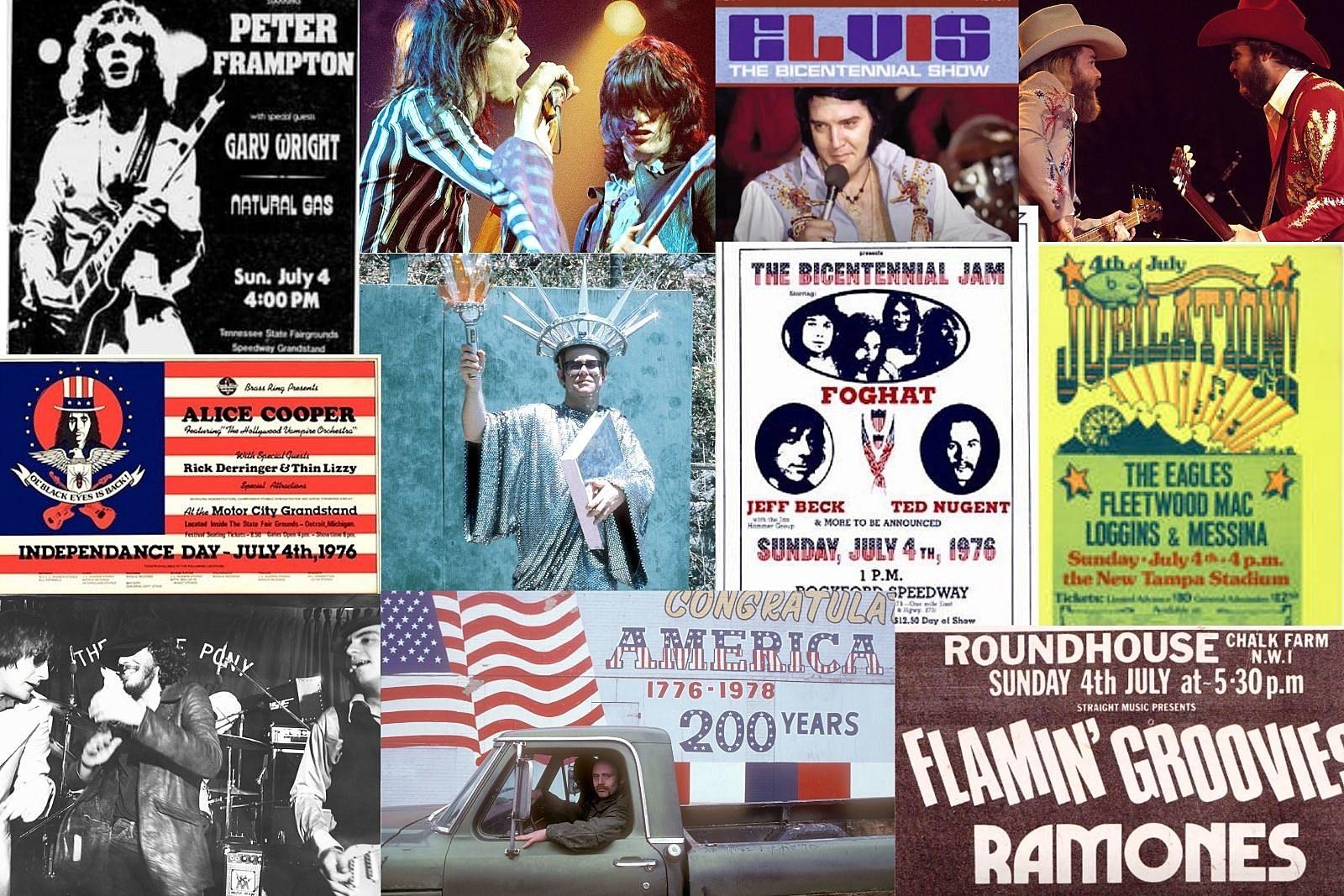 July 4, 1976: How Rock Stars Celebrated America's Bicentennial