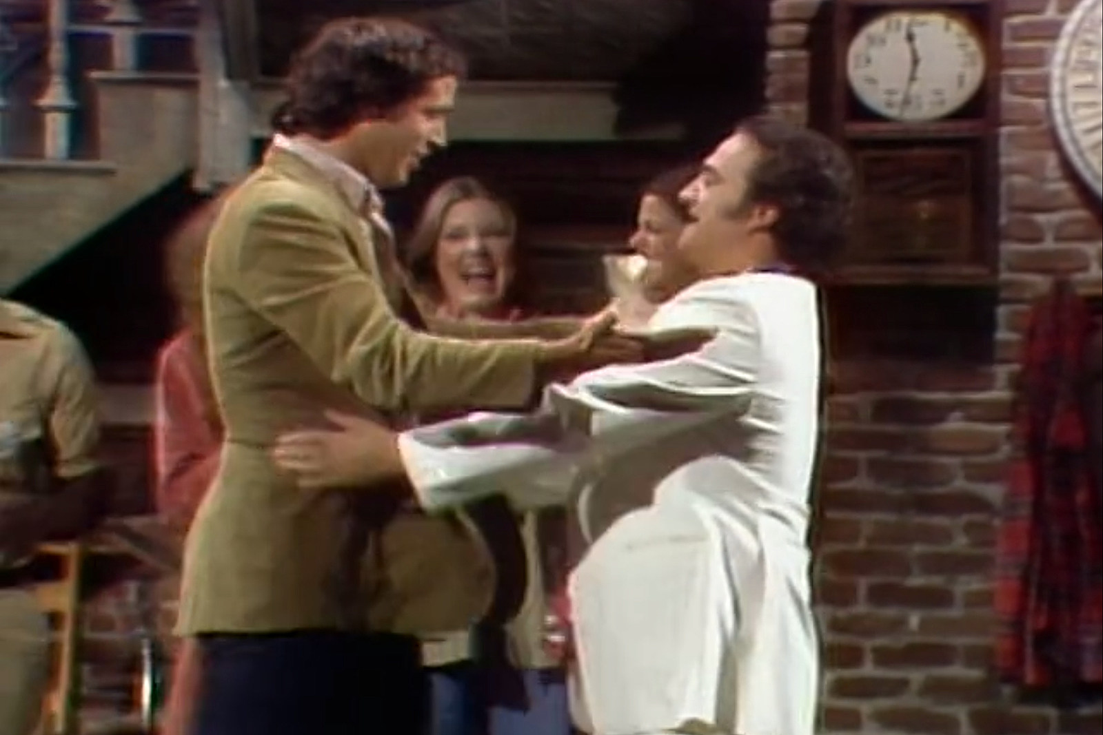 When Chevy Chase and John Belushi Brought Their Feud Onto 'SNL'
