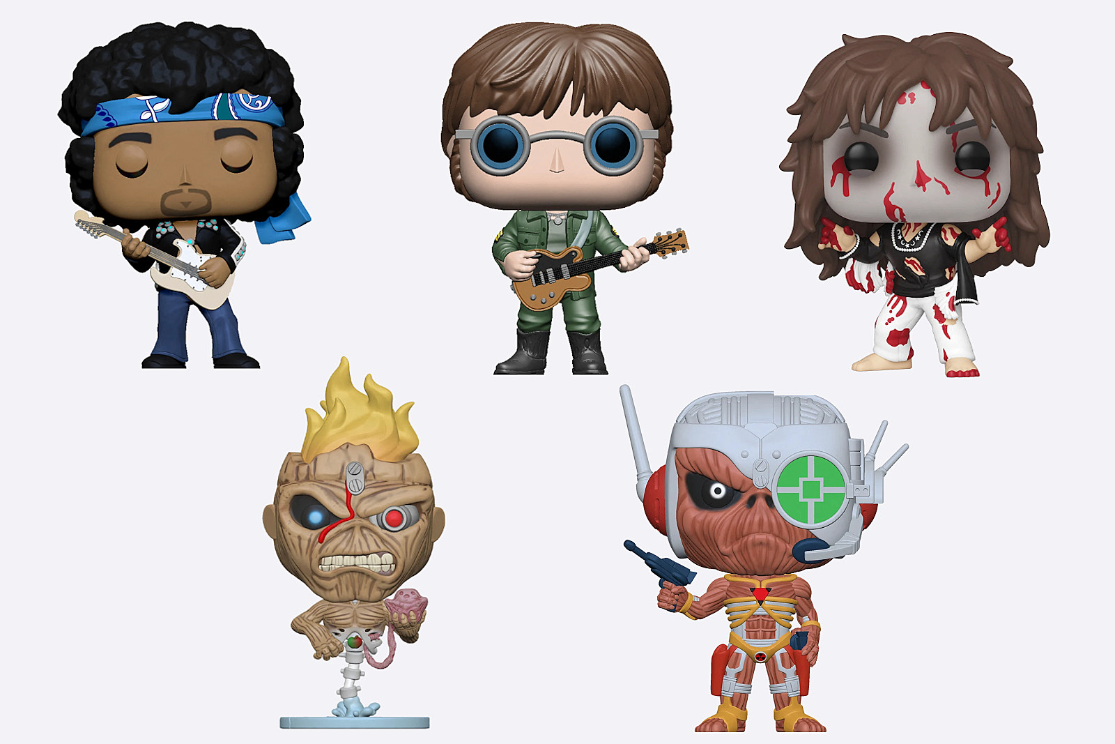 John Lennon, Ozzy Osbourne, Iron Maiden Among New Funko Figures