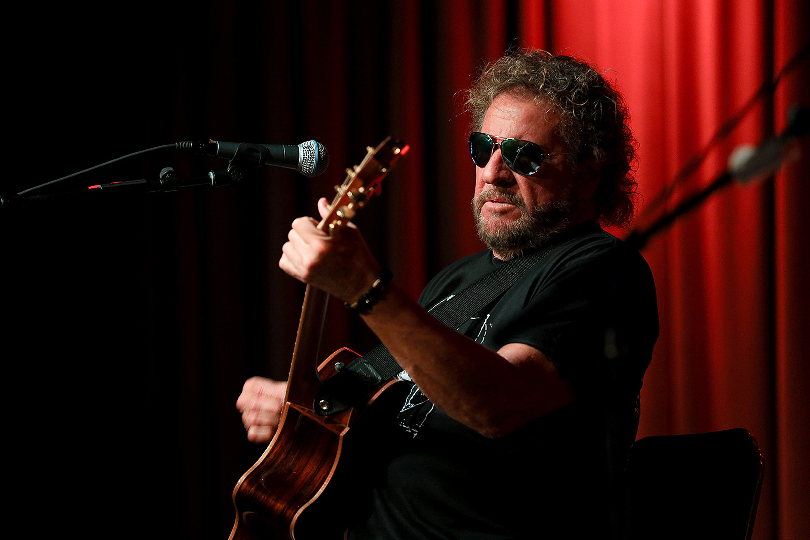 Rejuvenated Sammy Hagar Now in the 'Middle of a Writing Spree'
