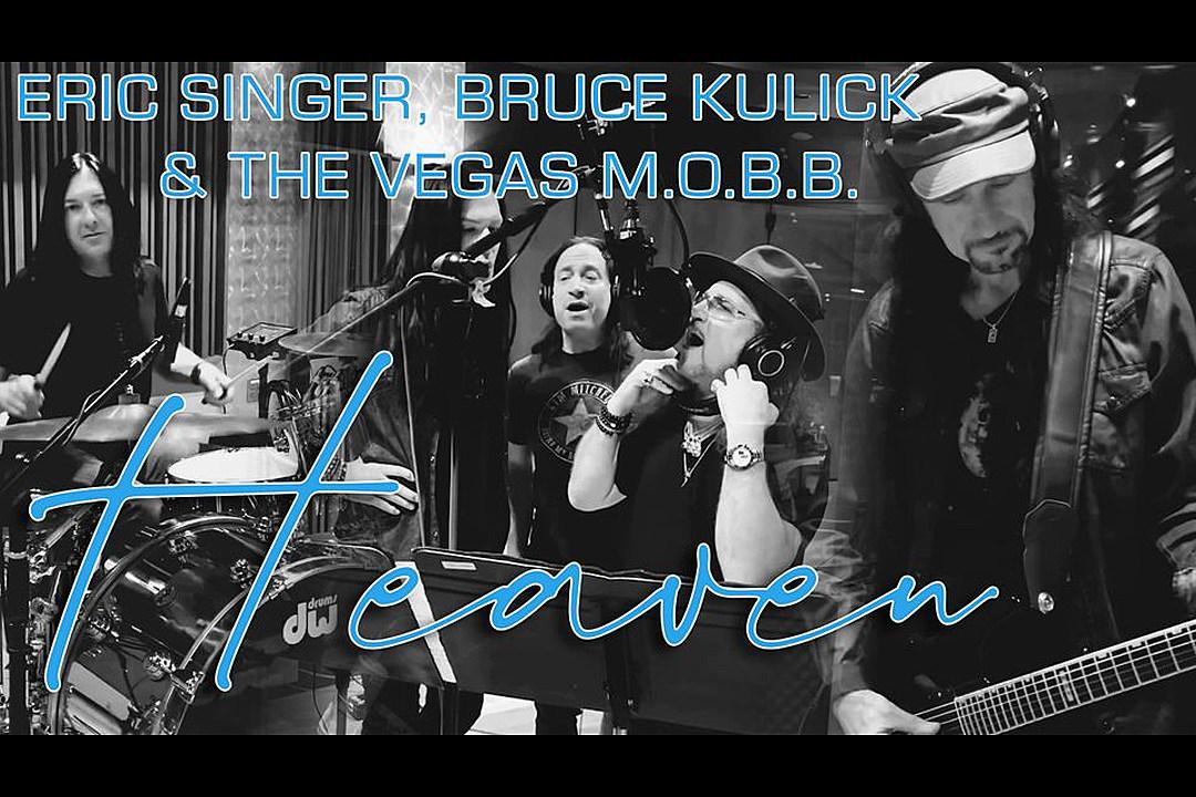 Hear Kiss' Eric Singer, Bruce Kulick Cover Bryan Adams' 'Heaven'