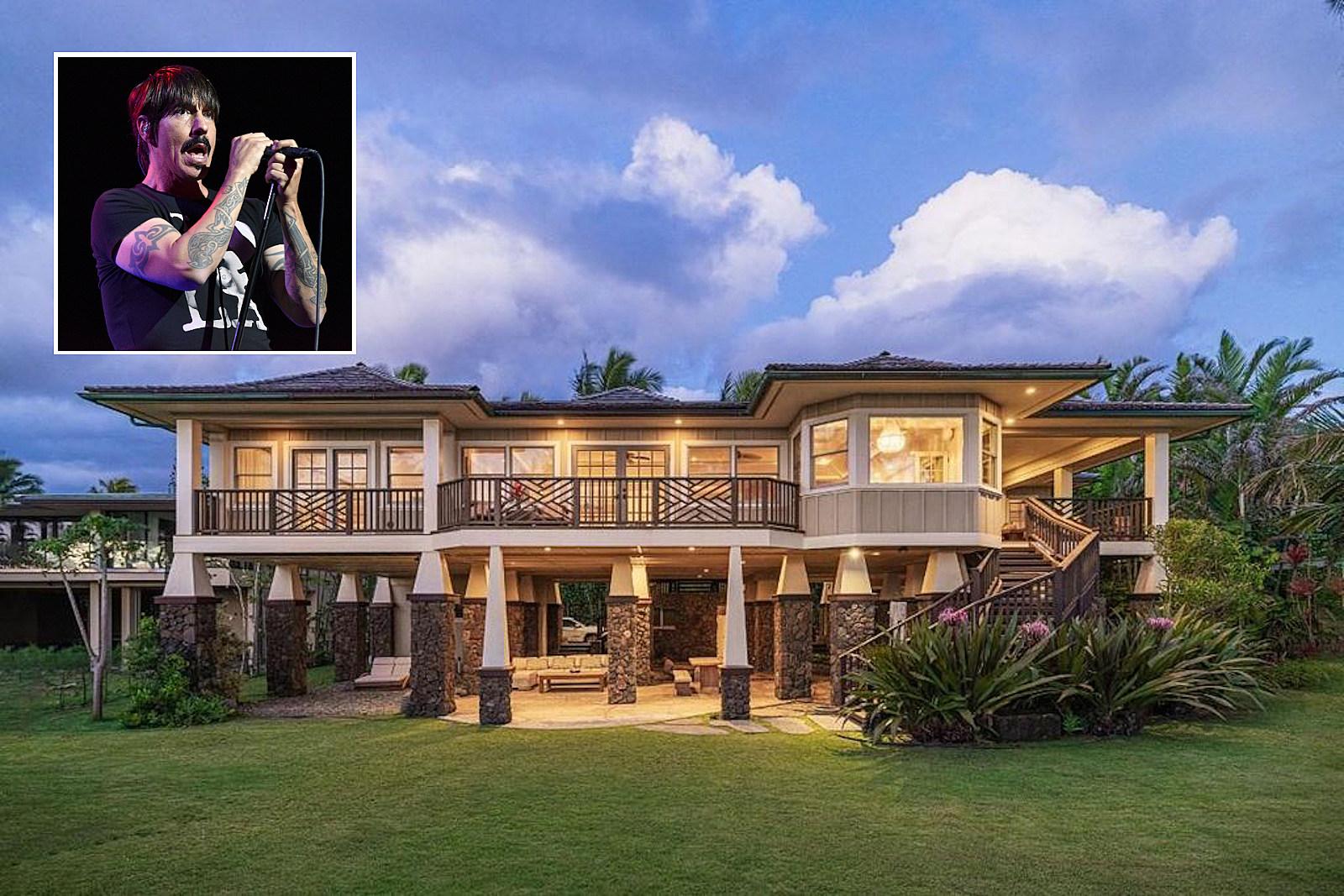 Anthony Kiedis Selling 'Truly Beautiful' Hawaiian Home for $10M