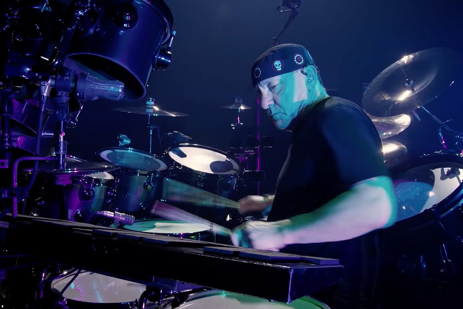 Watch Neil Peart's Final Recorded Drum Solo in Rush Film Teaser