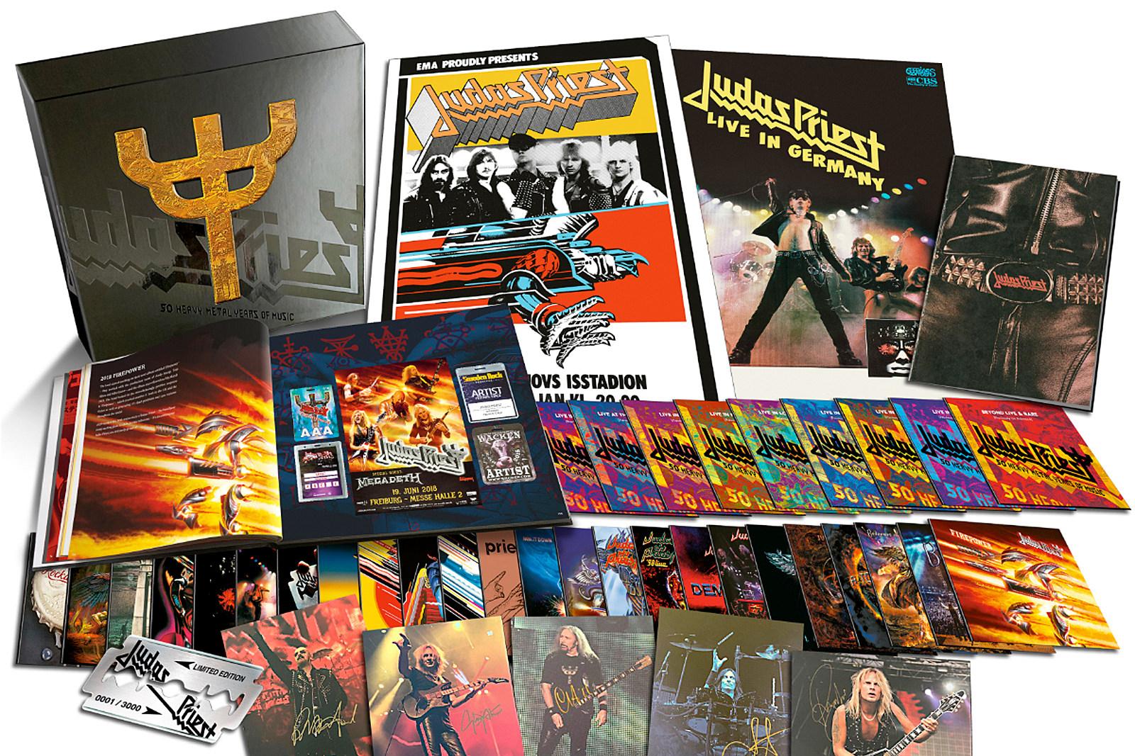 Judas Priest Announce Massive 50th Anniversary Box Set
