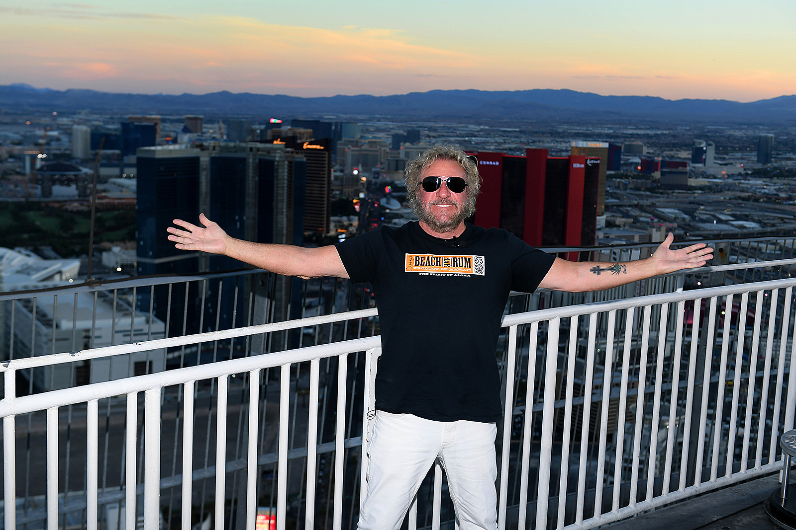 Sammy Hagar's Vegas Plans: 'I Really Want to Blow People's Minds'