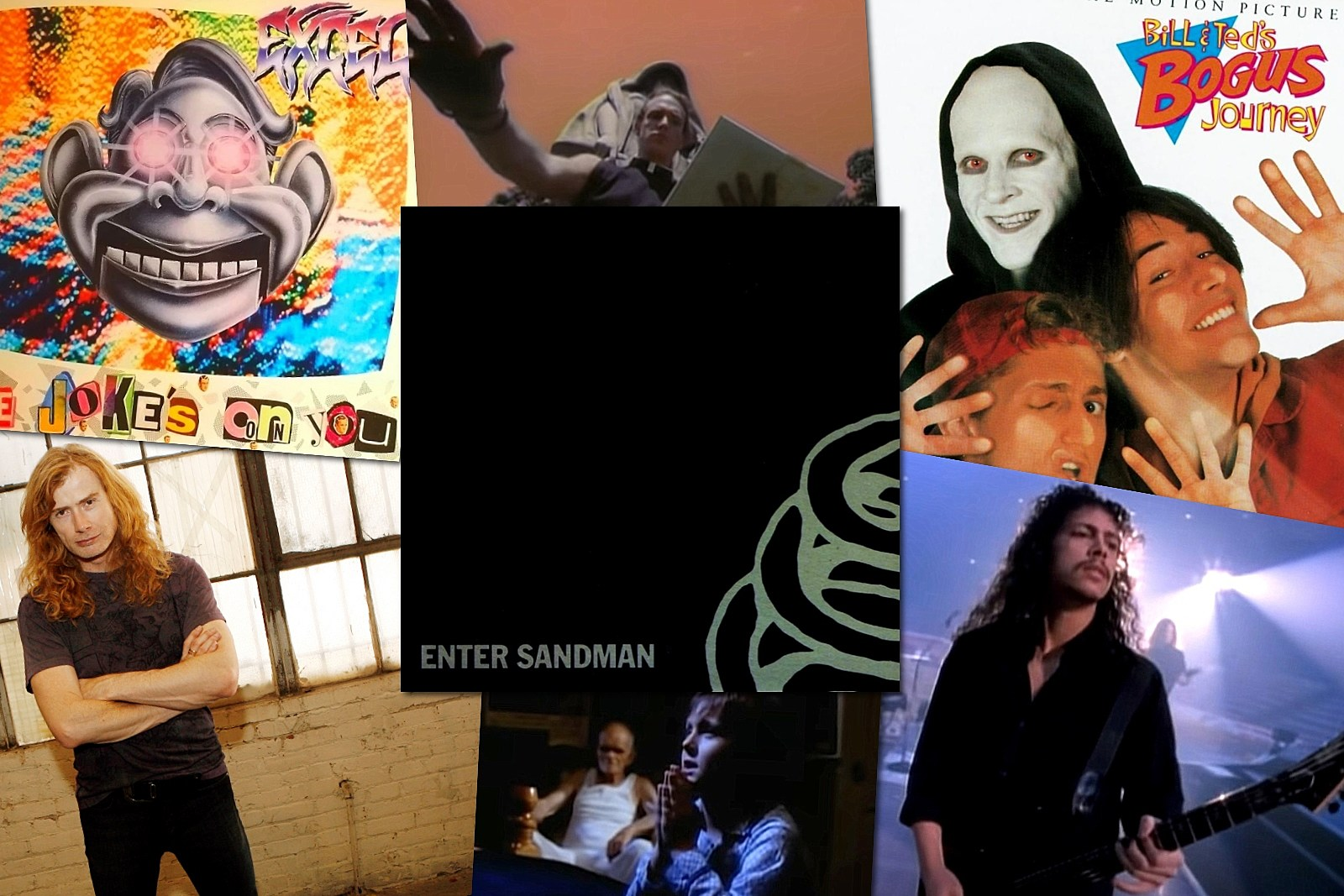 Did Metallica Poach Parts of 'Enter Sandman' From Other Artists?