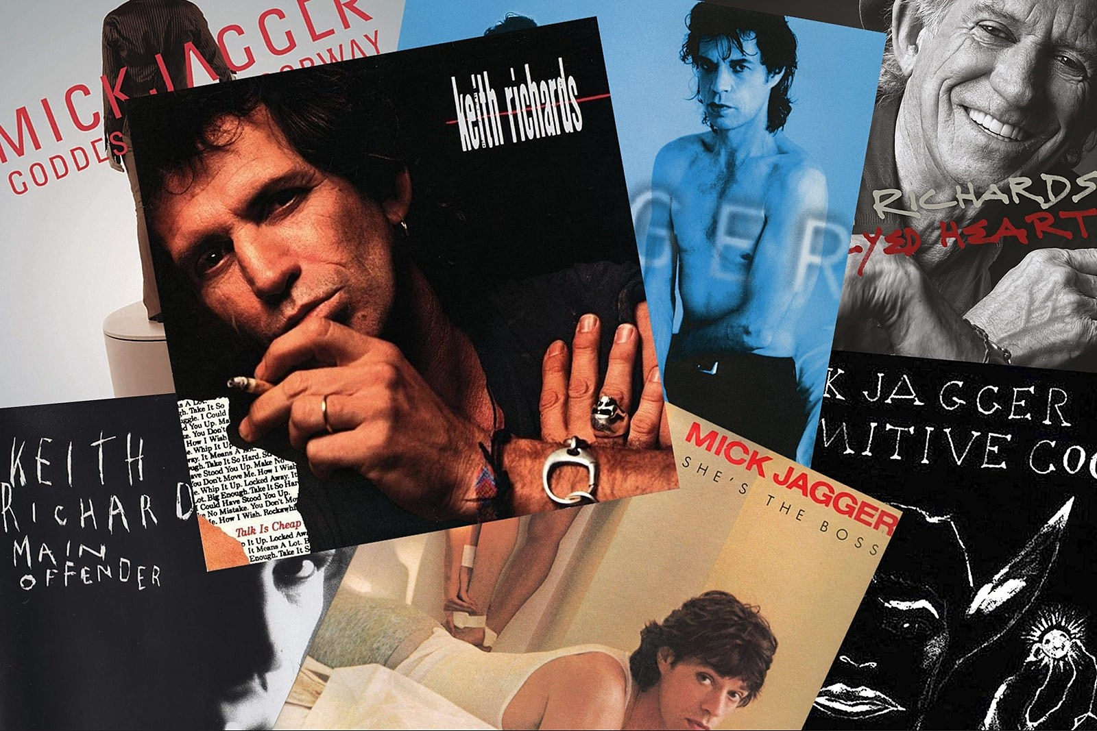 Most Underrated Song on Each LP by Mick Jagger and Keith Richards