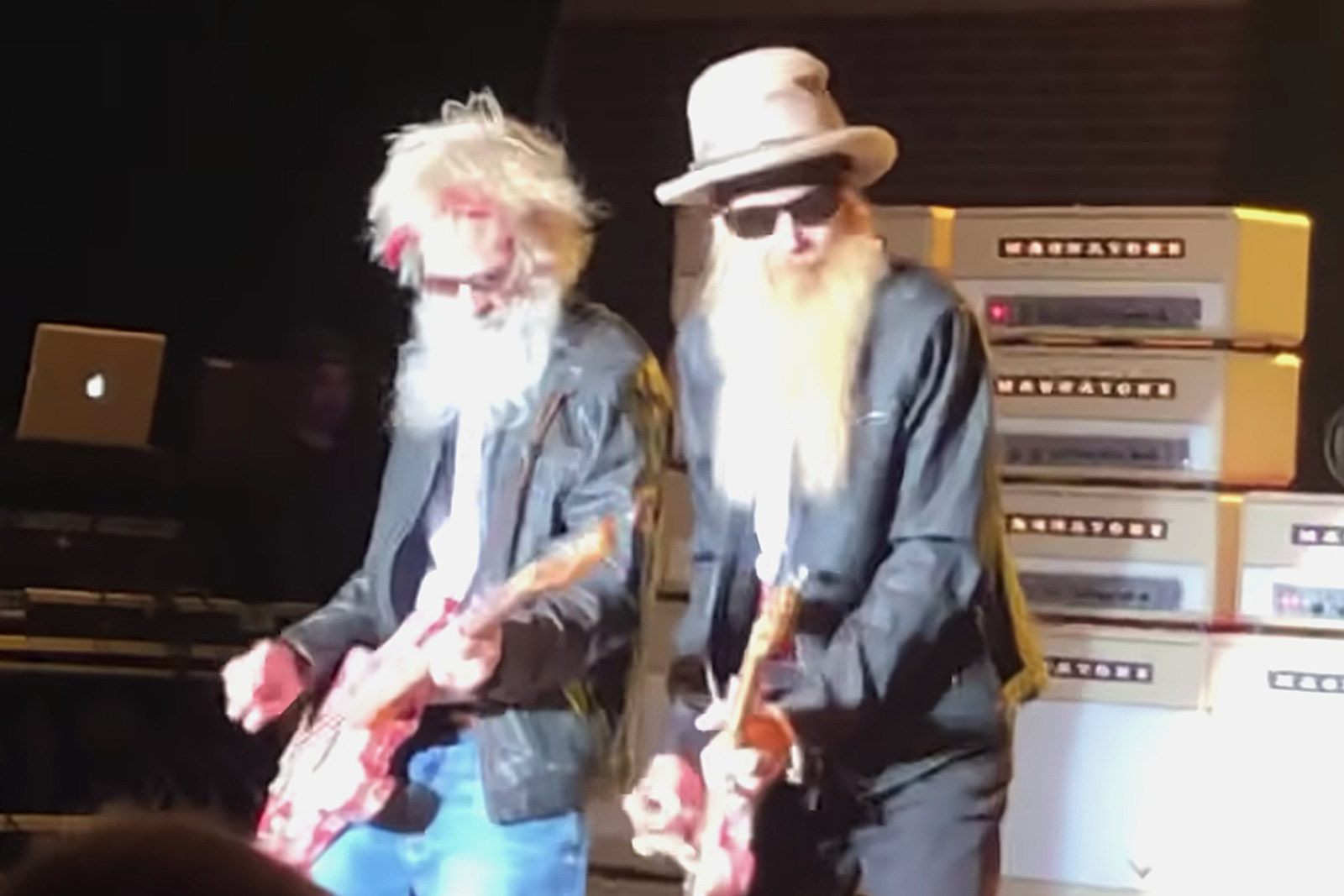 Dusty Hill's Replacement Has a ZZ Top Beard Due to the Pandemic