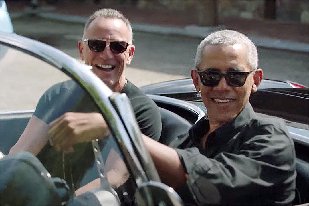 Bruce Springsteen and Barack Obama to Publish 'Renegades' Book