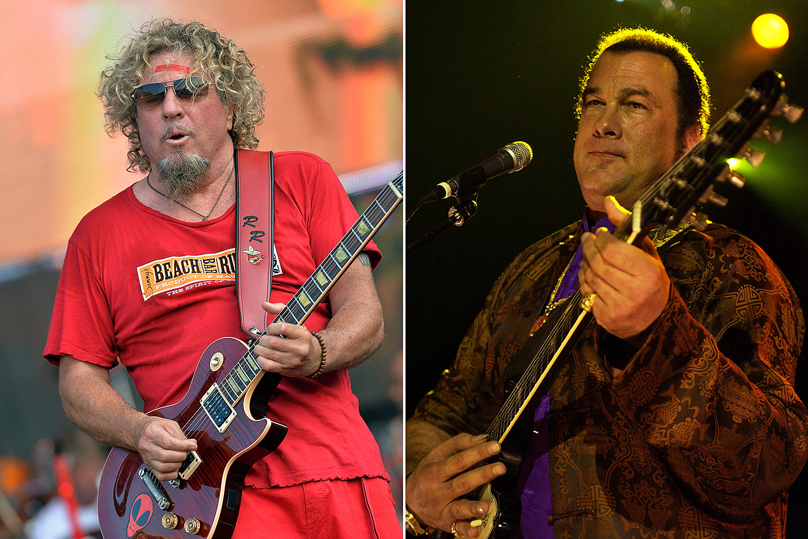 When Steven Seagal Opened for Sammy Hagar and Made $1,000