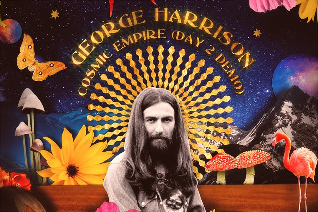Watch Video for George Harrison's Unreleased 'Cosmic Empire' Demo