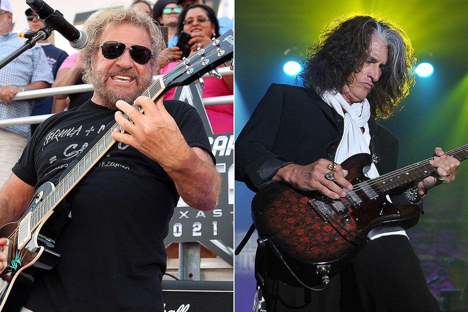 How Close Did Sammy Hagar Really Come to Joining Aerosmith?