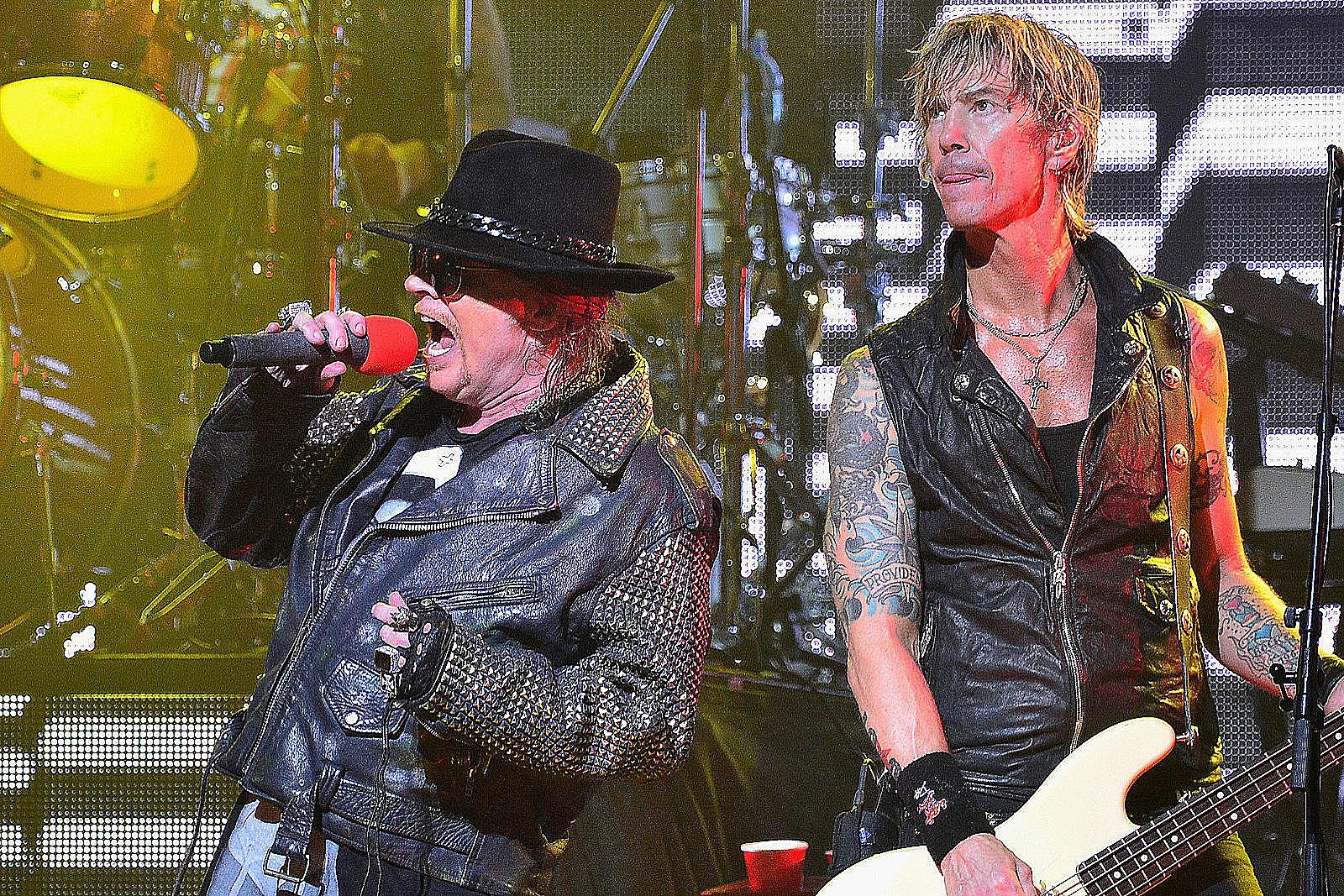 Watch Guns N' Roses Debut New Version of Unreleased 'Silkworms'