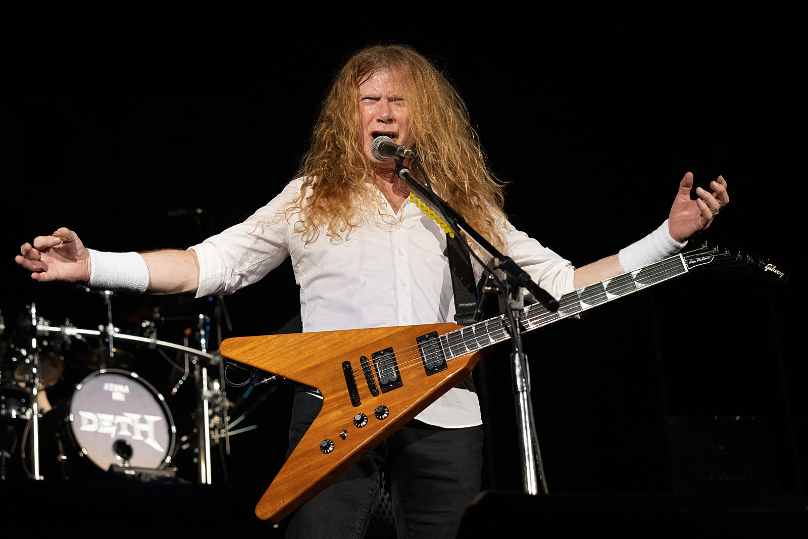 Megadeth's Dave Mustaine Slams 'Tyranny' of Mask Mandates