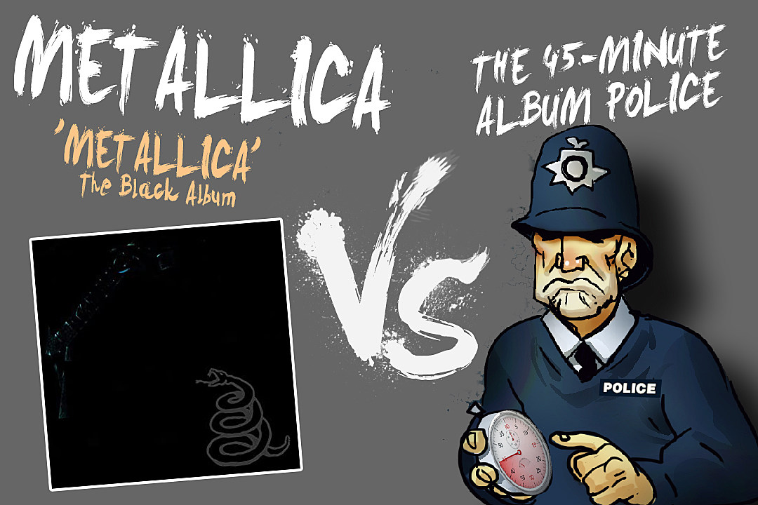 What if You Had to Cut 18 Minutes From Metallica's Black Album?