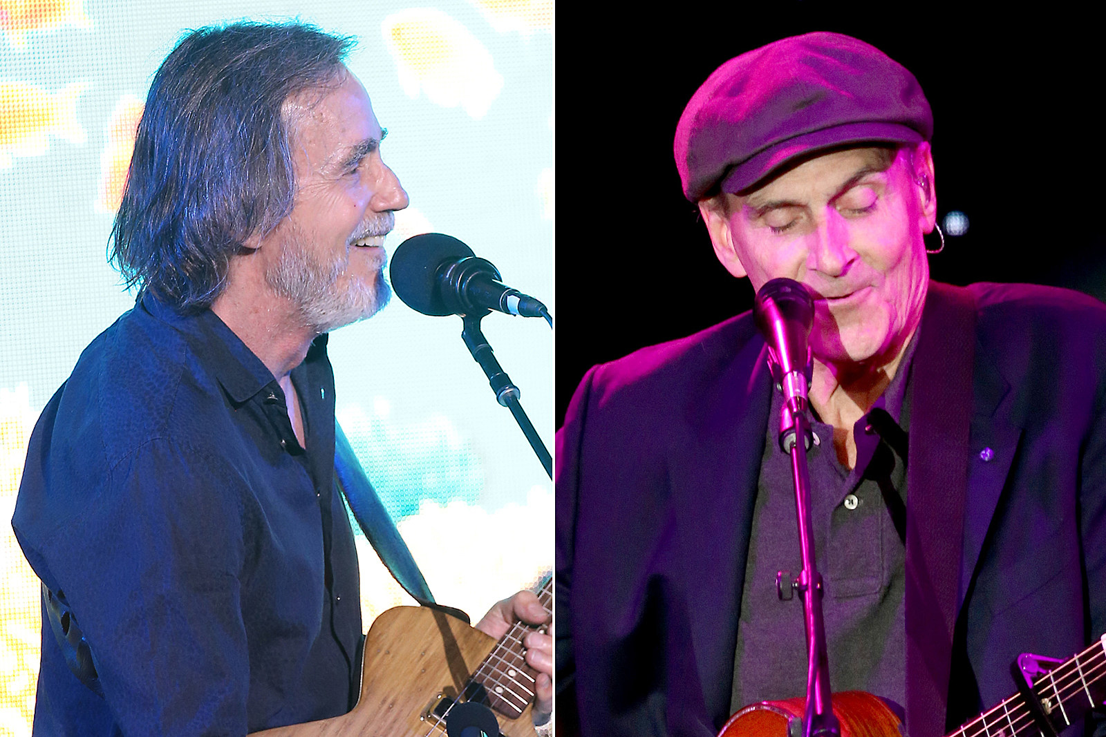 Watch Jackson Browne and James Taylor Perform 'Take It Easy'