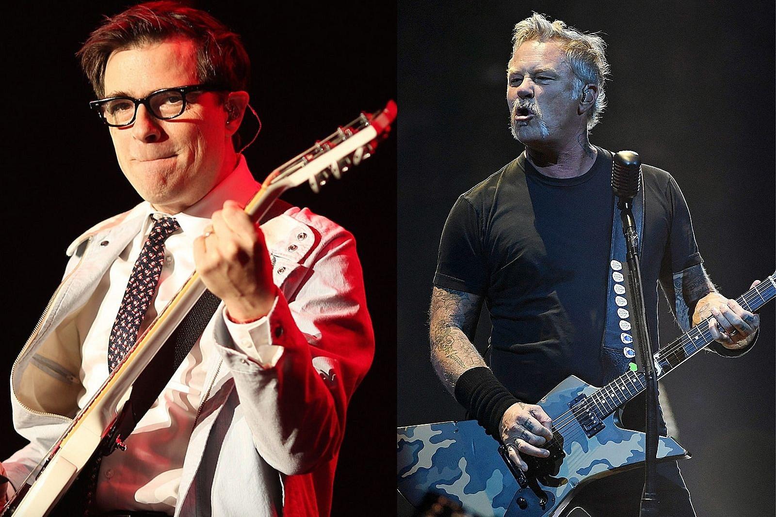 Listen to Weezer Cover Metallica's 'Enter Sandman'