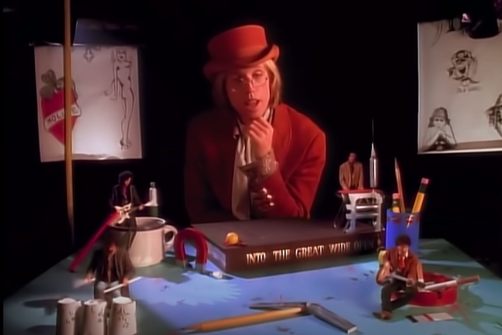 When Tom Petty Imagined a Failed Career in the 'Wide Open' Video