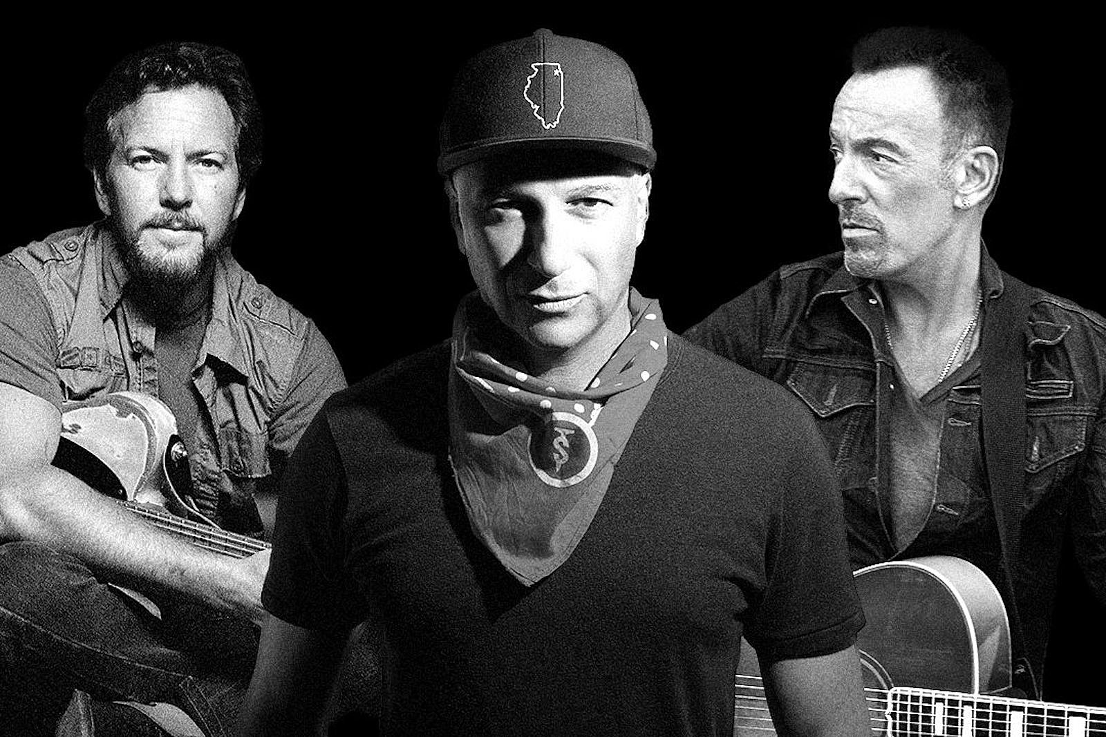 Hear Tom Morello, Bruce Springsteen and Eddie Vedder Cover AC/DC