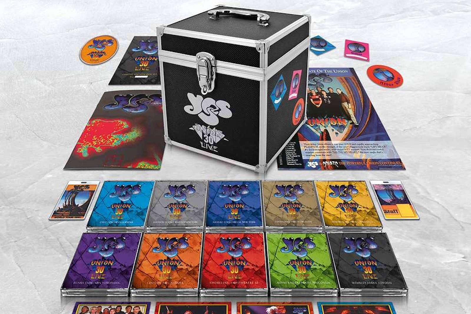 Yes Release 30-Disc 'Union Live' Anniversary Box Set