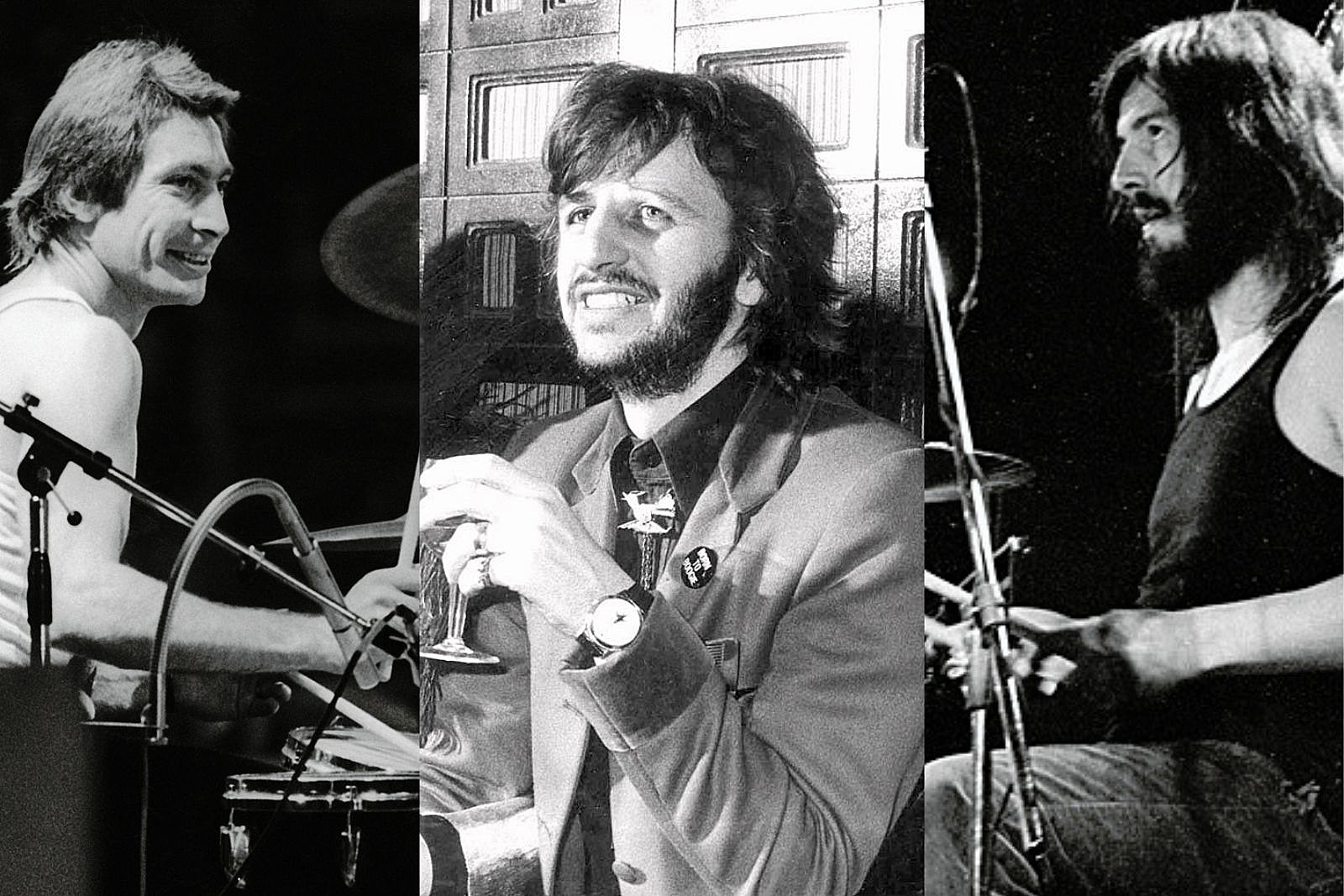 That Time Charlie Watts, Ringo Starr and John Bonham Hung Out