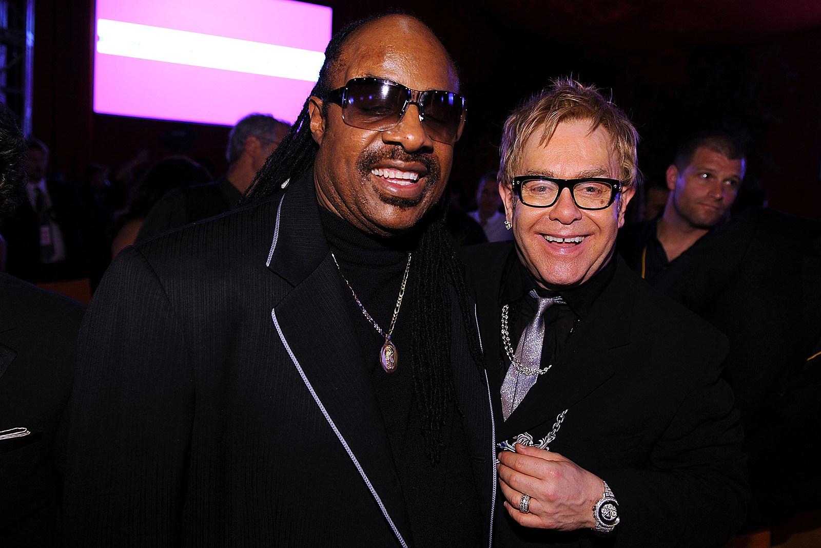 Elton John and Stevie Wonder Team for New Song 'Finish Line'