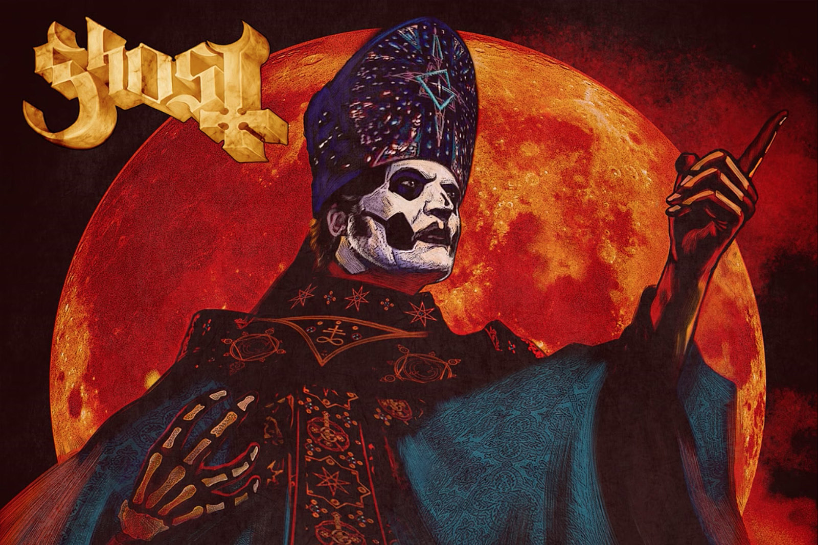 Ghost Release New Song 'Hunter's Moon'
