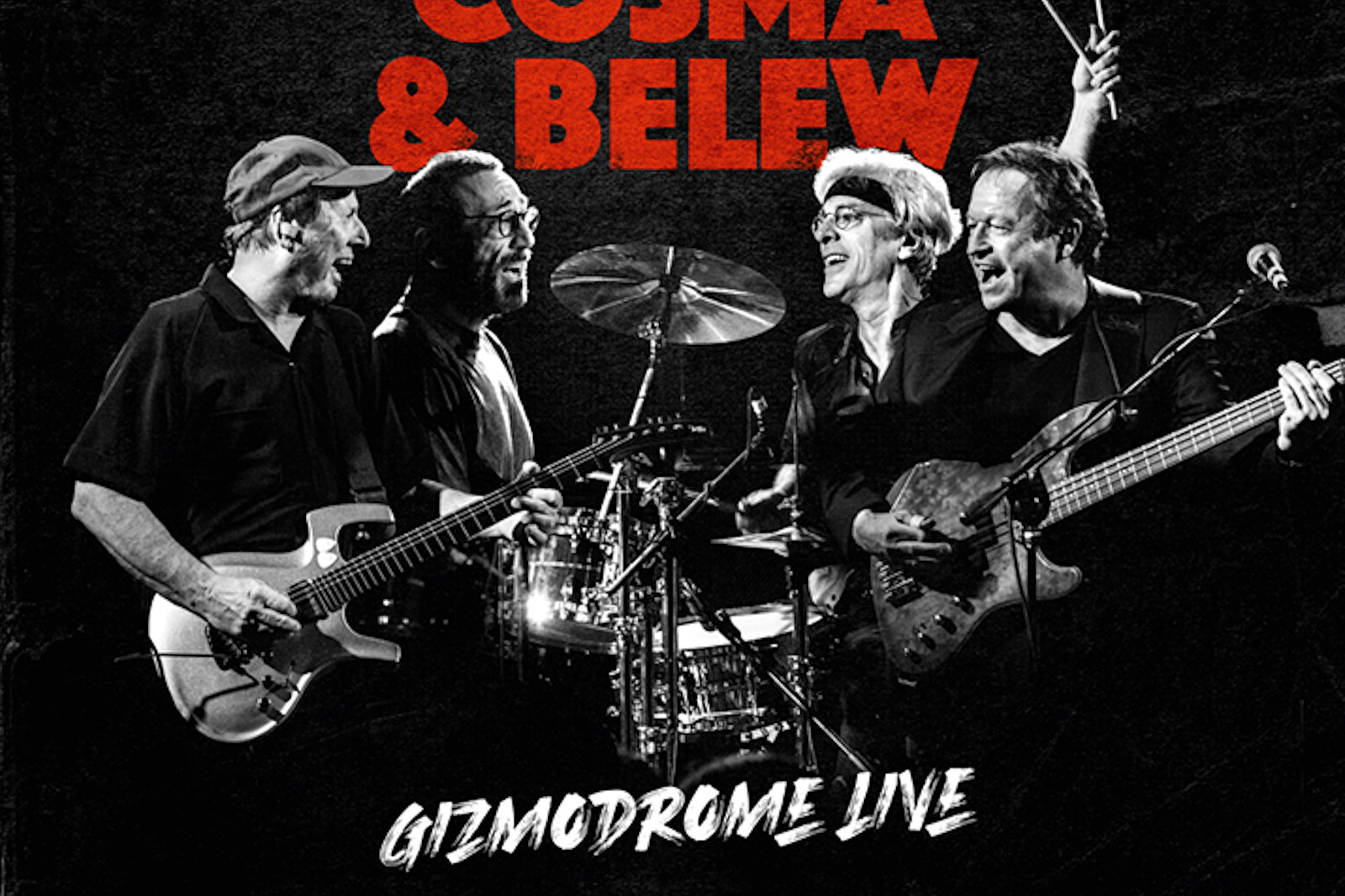 Stewart Copeland and Adrian Belew's Gizmodrome Announce Live LP